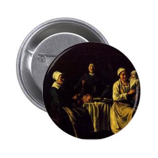 Le Nain brothers- The happy family Pin