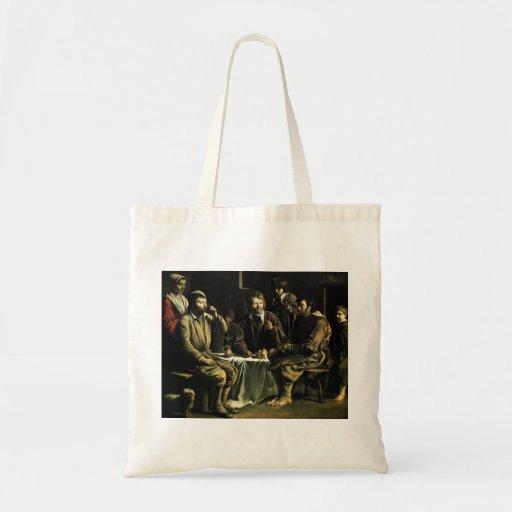 Le Nain brothers- The peasant's meal Canvas Bag