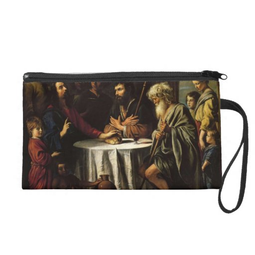 Le Nain brothers- The Supper at Emmaus Wristlet Clutch
