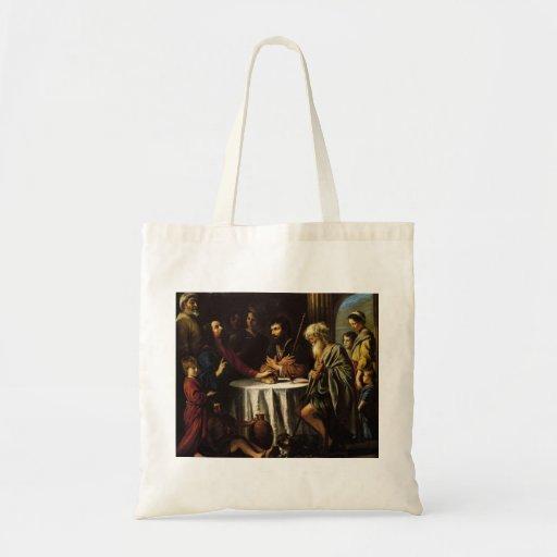 Le Nain brothers- The Supper at Emmaus Tote Bag