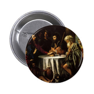 Le Nain brothers- The Supper at Emmaus Pinback Button