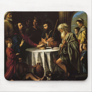 Le Nain brothers- The Supper at Emmaus Mouse Pad