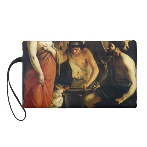 Le Nain brothers- Venus in Vulcan's Forge Wristlet Clutch