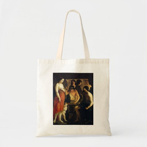Le Nain brothers- Venus in Vulcan's Forge Tote Bags