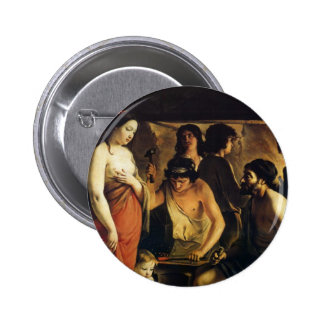 Le Nain brothers- Venus in Vulcan's Forge Pinback Buttons