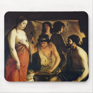 Le Nain brothers- Venus in Vulcan's Forge Mouse Pad