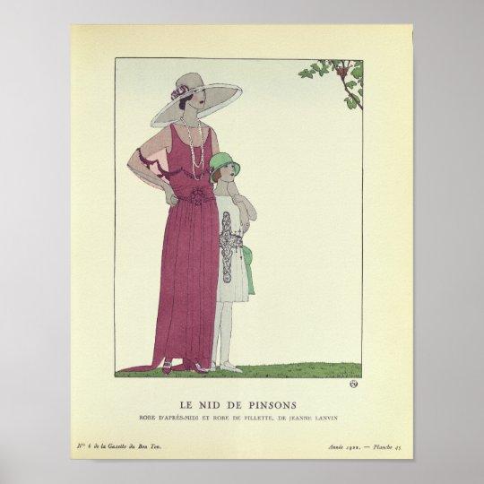 Le Nid de Pinsons Poster