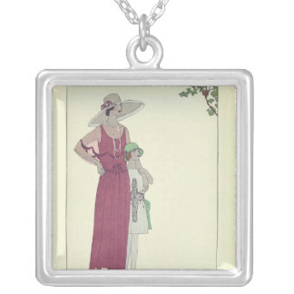 Le Nid de Pinsons Silver Plated Necklace