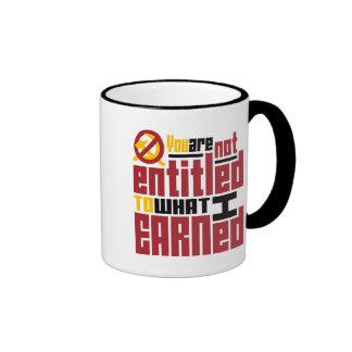 Le no dan derecho a lo que gané taza de café
