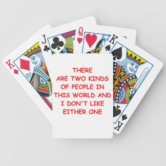 le odio barajas de cartas