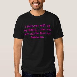 Le odio con todo mi corazón, te amo con… camisas