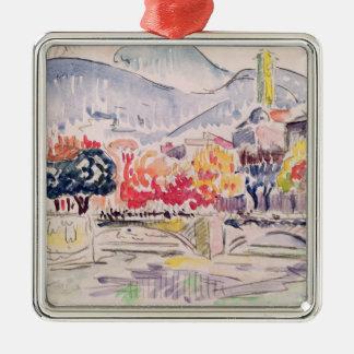 Le Paillon, Nice, 1921 Metal Ornament
