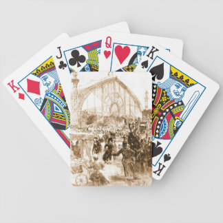 Le Palais de Machines 1889 Bicycle Playing Cards