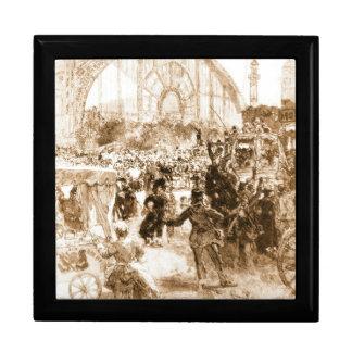 Le Palais de Machines 1889 Keepsake Boxes