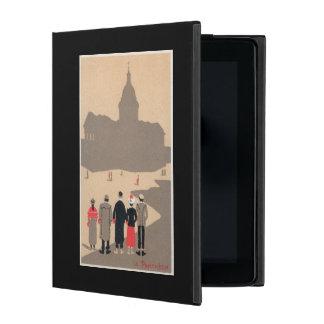 Le Pantheon Art Deco SceneParis, France iPad Folio Cases