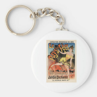Le Pays des Fees Keychain