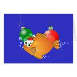 ¡Le pescamos las Felices Navidad! Felicitaciones
