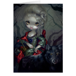 """""""Le Petit Chaperon Rouge"""" Greeting Card"""