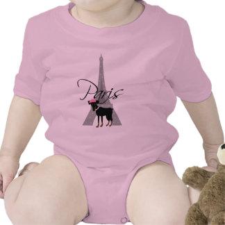 Le petit chien à Paris Tshirt