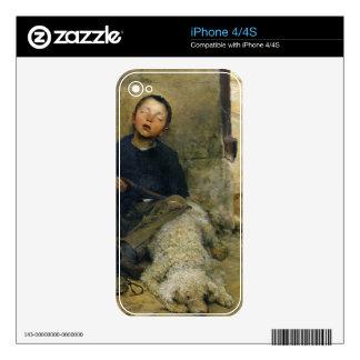 le petit colporteur endormi decal for the iPhone 4S