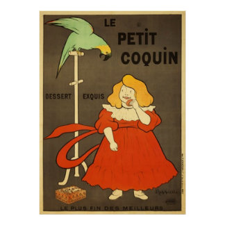 Le Petit Coquin by Cappiello Vintage Advertisement Poster
