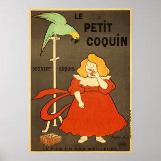 Le Petit Coquin por el anuncio del vintage de Poster