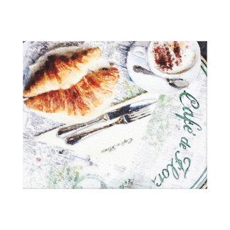 Le Petit Dejeuner Canvas Print