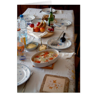 Le Petit Dejeuner Card