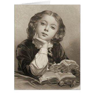 Le Petit Distrait 1850 Card