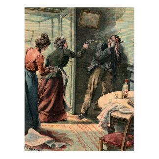 LE PETIT PARISIEN (29 avril 1900) Postcard