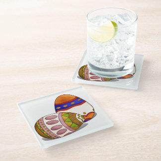 Le Petit Poule Easter DECOR 2 Glass Coaster
