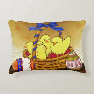Le Petit Poule Easter SITTING ROOM 1 Accent Pillow