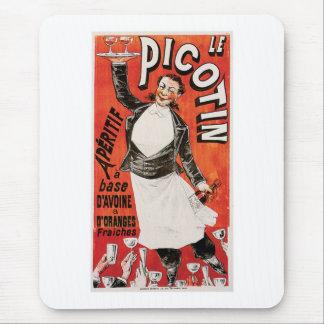 Le Picotin Vintage Food Ad Art Mouse Pad