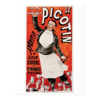 Le Picotin Vintage Food Ad Art Postcard