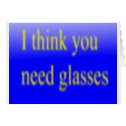 Le pienso los vidrios de la necesidad felicitaciones