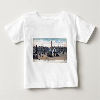 Le Place de la Concorde Paris France Vintage Tee Shirt