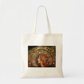 Le Plume Portrait Tote Bag
