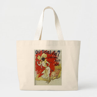 Le Plus Grand Succes 1898 by Alfred Choubrac Large Tote Bag