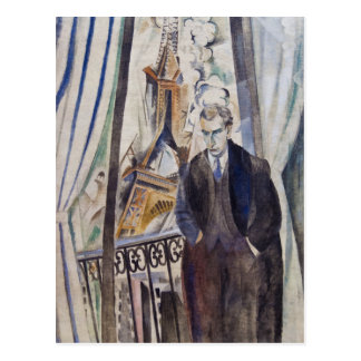 Le Poète Philippe Soupault by Robert Delaunay 1922 Postcard