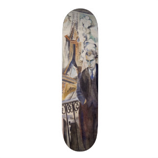 Le Poète Philippe Soupault by Robert Delaunay 1922 Skateboard Deck