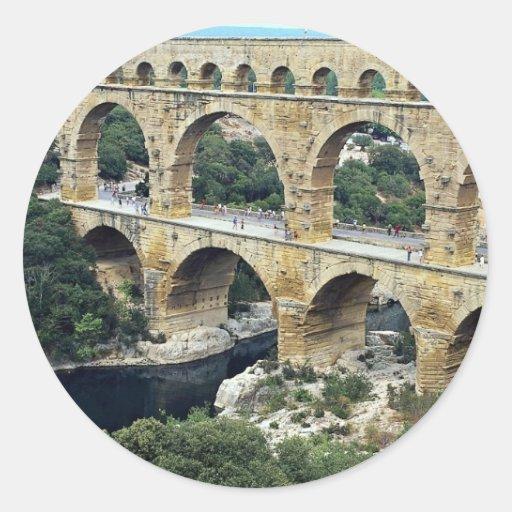 Le Point du Gard, Francia en Europa Pegatinas