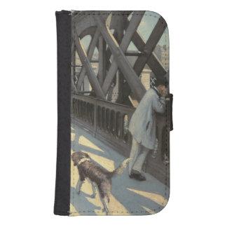 Le Pont de L'Europe, 1876 Fundas Billetera De Galaxy S4