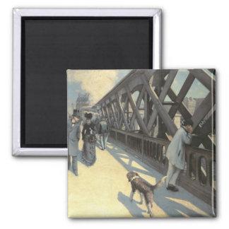 Le Pont de L'Europe, 1876 Imán Cuadrado