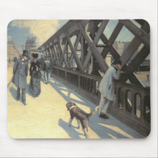 Le Pont de L'Europe, 1876 Mouse Pad