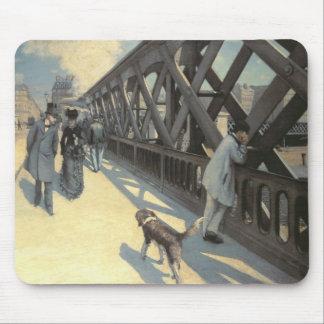 Le Pont de L'Europe, 1876 Mousepad