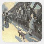 Le Pont de L'Europe, 1876 Sticker