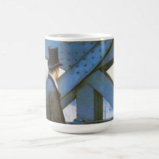 Le Pont de l'Europe by Gustave Caillebotte Coffee Mug