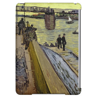 Le Pont de Trinquetaille in Arles, 1888 (oil on ca Cover For iPad Air