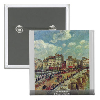 Le Pont-Neuf By Pissarro Camille Pins