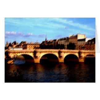 Le Pont Neuf Greeting Card
